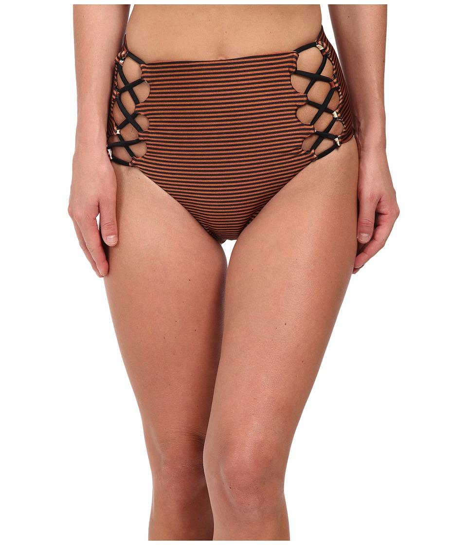 Volcom - Roam Free Highwaist Bottoms (Rust) Women's Swimwear