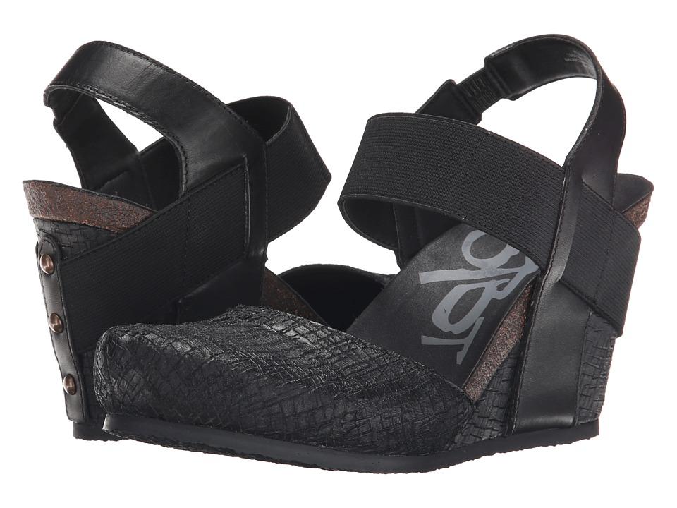 OTBT - Rexburg (Black) Women's Wedge Shoes
