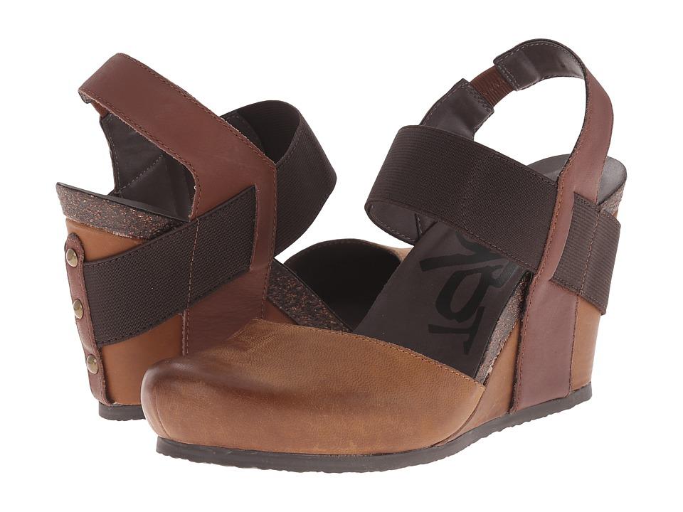 OTBT - Rexburg (Havana Brown) Women's Wedge Shoes