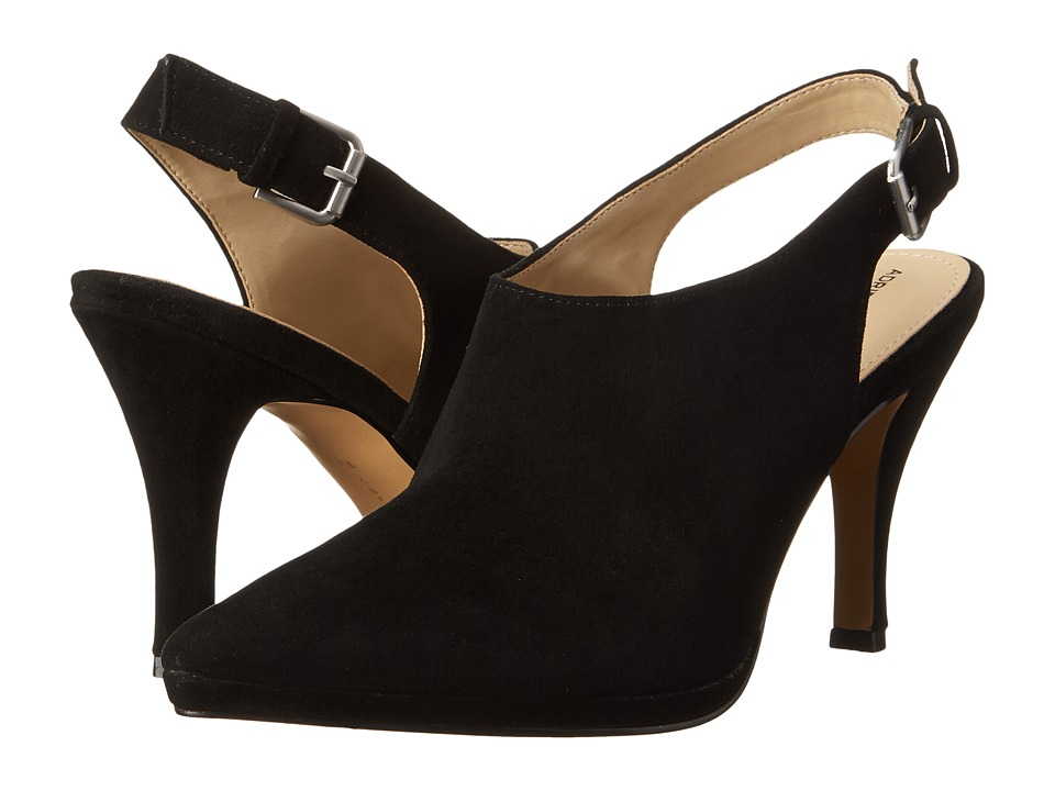 Adrienne Vittadini - Jacobi (Black Kid Suede) High Heels