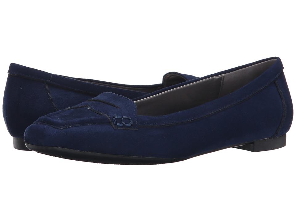 Adrienne Vittadini - Blaker (Patriot Blue Suede) Women's Slip on Shoes
