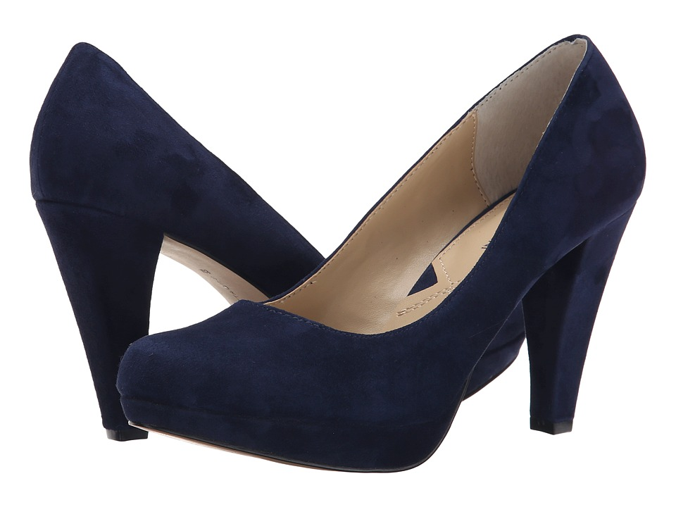 Adrienne Vittadini - Prestin (Patriot Blue Kid Suede) High Heels