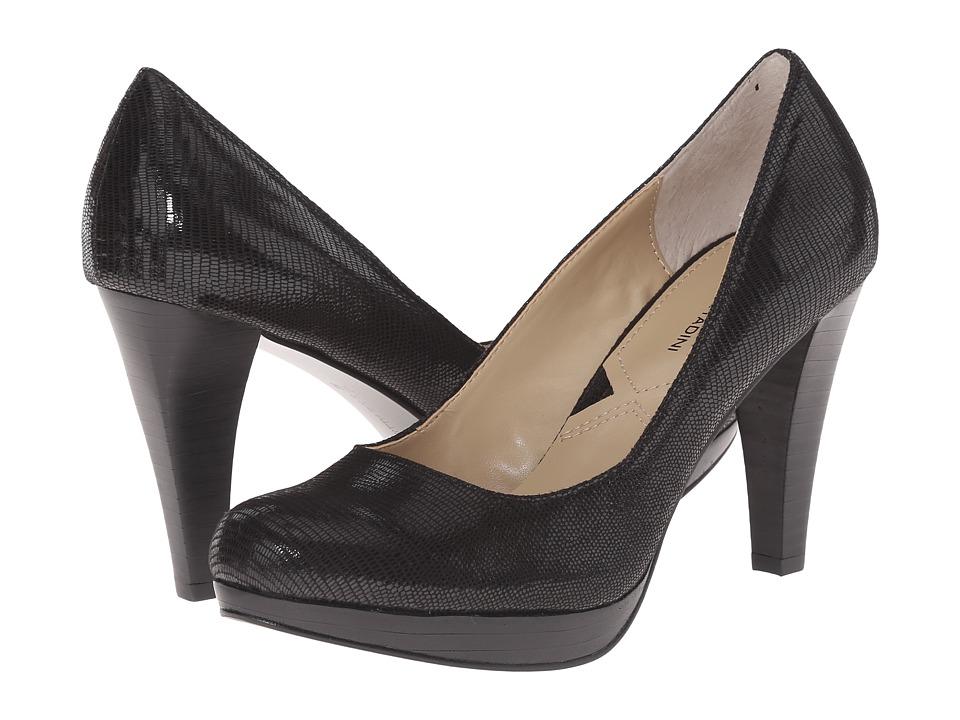 Adrienne Vittadini Prestin (Black Lizard Print) High Heels