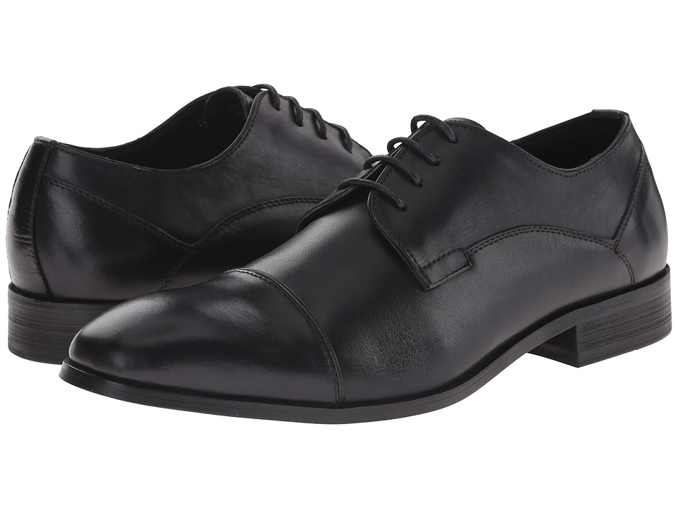 Kenneth Cole Reaction - H-Ave It All (Navy) Men's Lace Up Cap Toe Shoes
