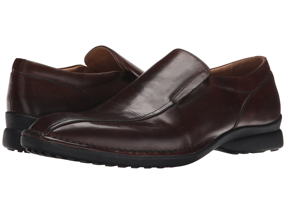 Kenneth Cole Reaction - Party Punch (Brown) Men's Slip-on Dress Shoes