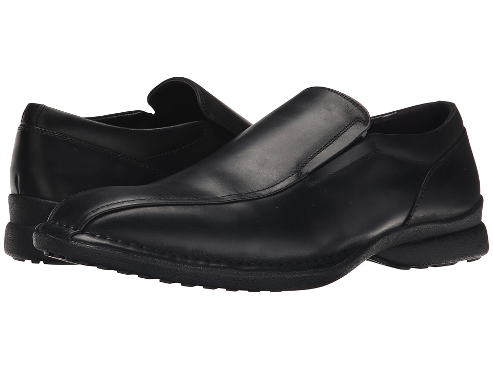 Kenneth Cole Reaction - Party Punch (Black) Men's Slip-on Dress Shoes