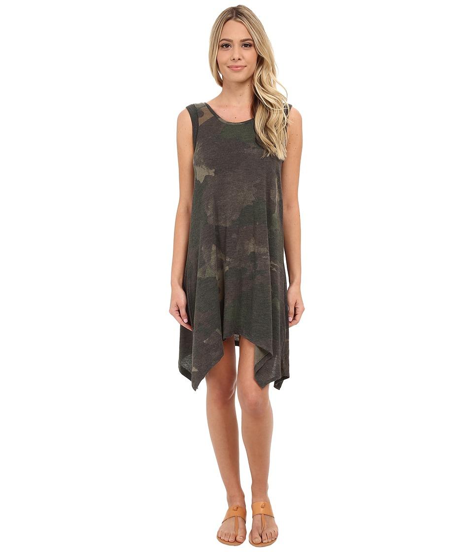Alternative - Printed Sharkbite Dress (Camo Dreamstate) Women's Dress