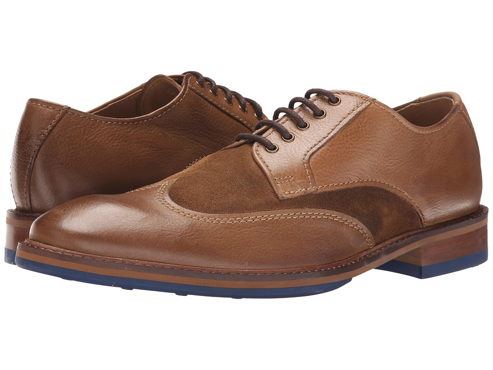 Kenneth Cole Reaction - Move-Ment (Brown Combo) Men's Lace Up Wing Tip Shoes