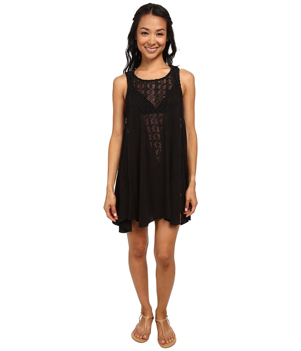Billabong - High Road Cover-Up Dress (Black) Women