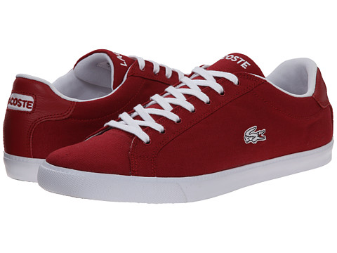 Lacoste - Graduate Vulc FB CWC (Red/White) Men's Shoes