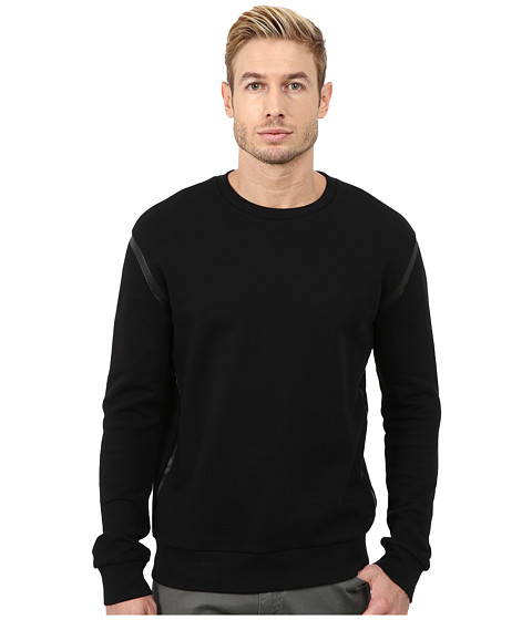 HUGO - Denkins 10167291 01 (Black) Men's Sweatshirt