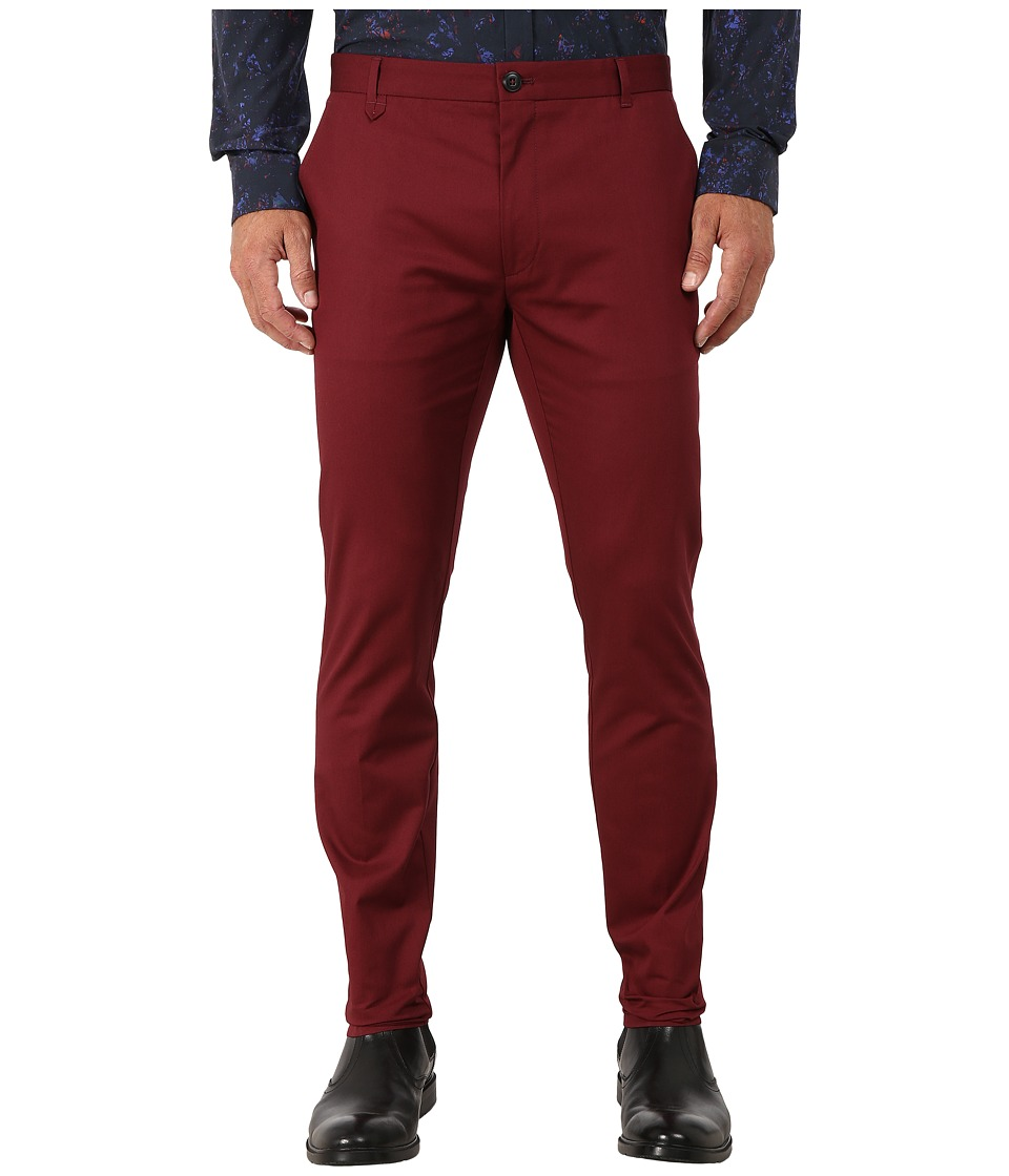 HUGO - Heldor1 10166740 01 (Dark Red) Men's Dress Pants