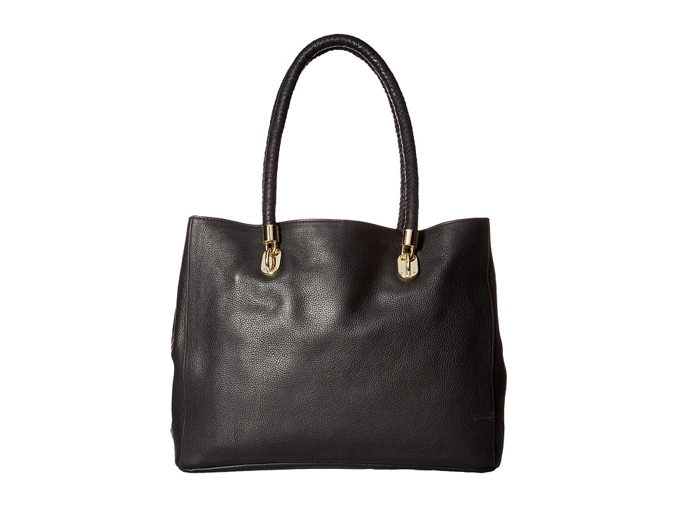 Cole Haan - Benson Pebble Large Tote (Black) Tote Handbags