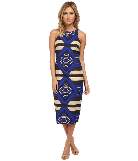 Mara Hoffman - Sleeveless Midi Dress (Keeper Blue) Women's Dress