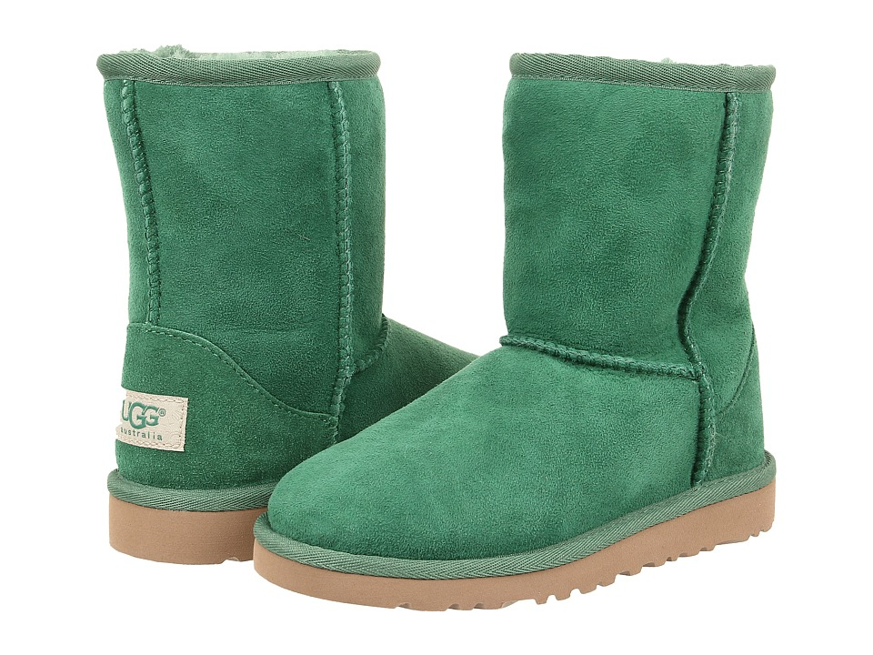 UGG Kids - Classic (Little Kid/Big Kid) (Pine Twinface) Kids Shoes