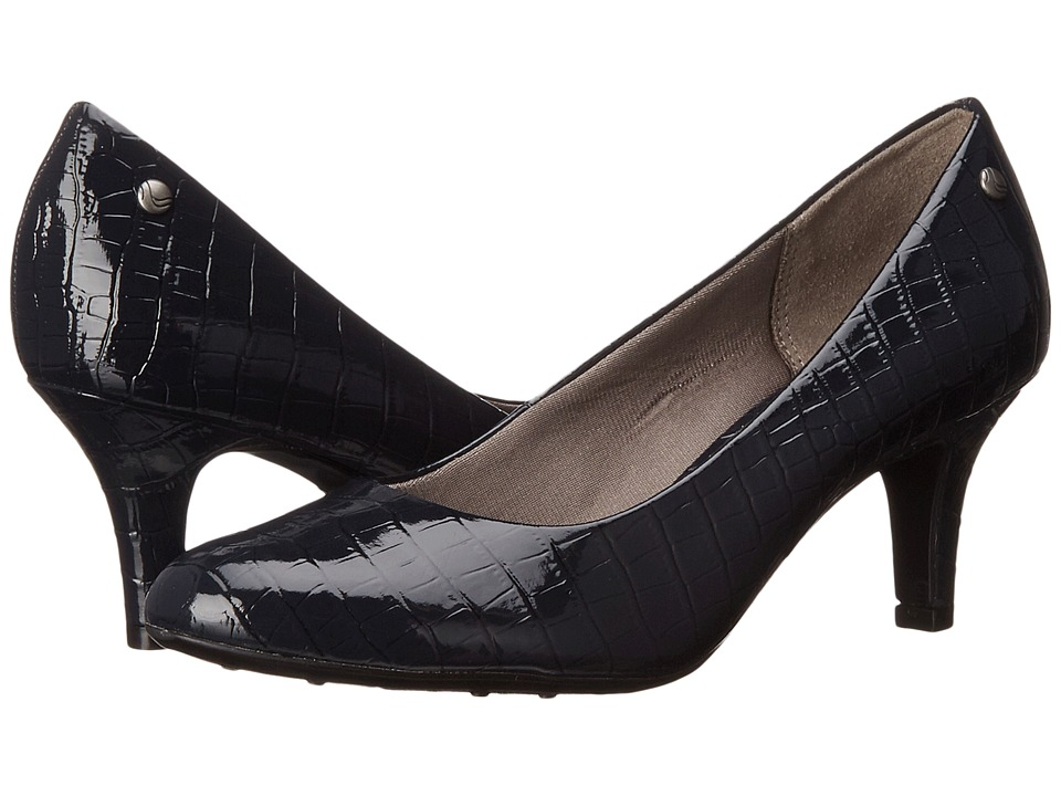 LifeStride Parigi (Navy Croco) High Heels