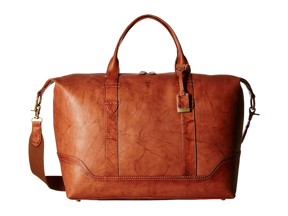 Frye - Campus Overnight (Saddle) Weekender/Overnight Luggage