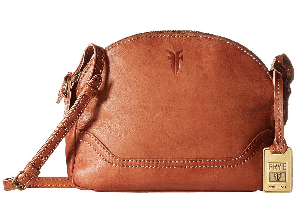 Frye - Campus Zip Crossbody (Saddle) Cross Body Handbags