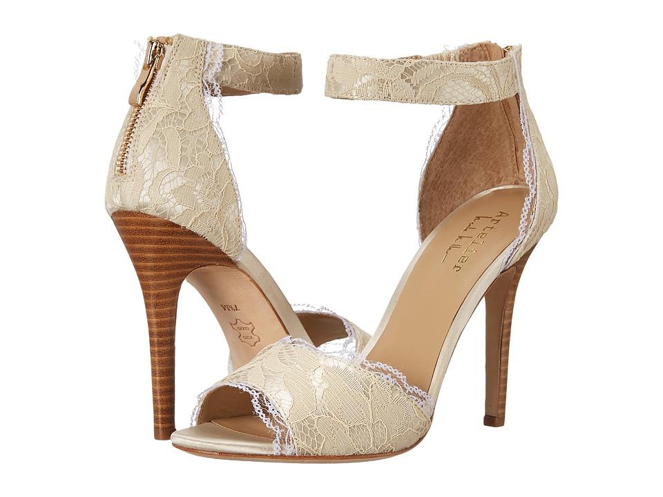 Nicole Miller Artelier - Cocoa (Ivory Lace) Women's Shoes