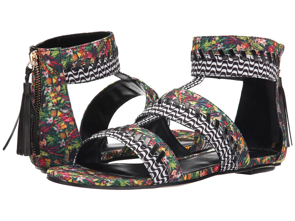 Nicole Miller Artelier - Jacksonville (Multi Tropical Print) Women's Shoes