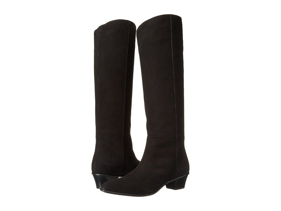 CoSTUME NATIONAL - 45143 23001 (Black Suede) Women's Boots