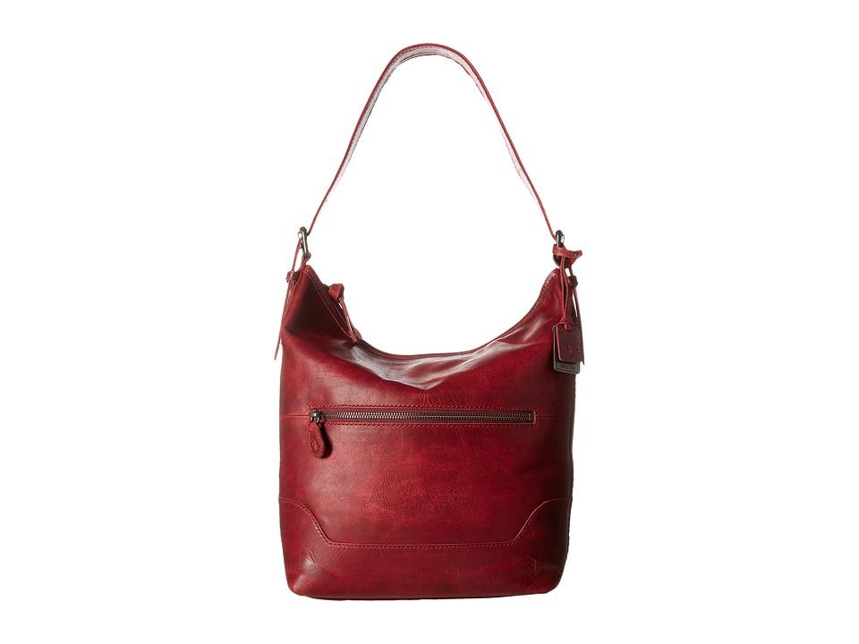 Frye - Melissa Bucket (Burgundy) Hobo Handbags
