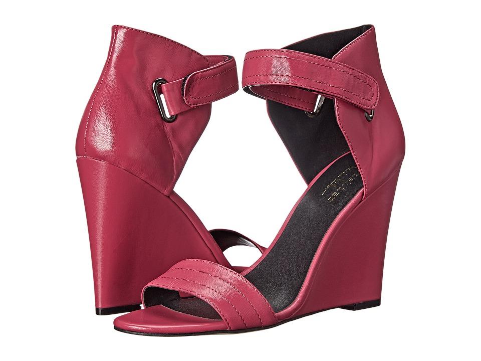 Nicole Miller Artelier - Palm Beach (Fuchsia Leather) Women's Shoes
