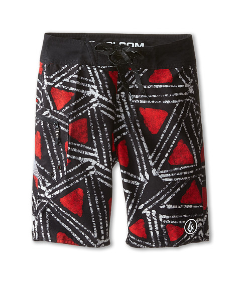 Volcom Kids - EH Freaka Boardshorts (Big Kids) (Firecracker) Boy's Swimwear