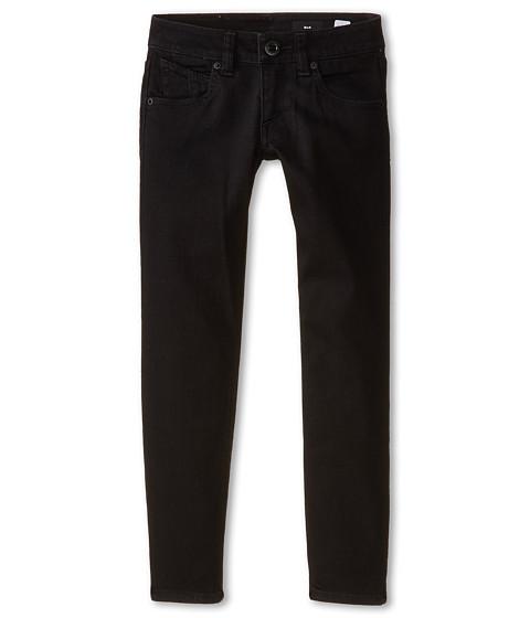 Volcom Kids - 2X4 By Denim (Big Kids) (Black On Black) Boy's Jeans
