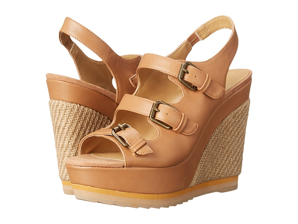 Nine West - Wixson (Light Natural Synthetic) Women's Wedge Shoes