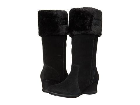Anne Klein - Inda (Black Leather) Women's Boots