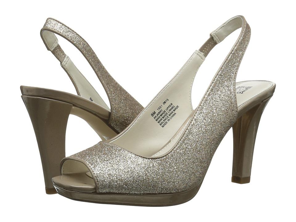Anne Klein - Jarry (Gold Sparkle) Women's 1-2 inch heel Shoes