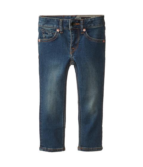 Volcom Kids - 2X4 LY Denim (Toddler/Little Kids) (Smokey Blue) Boy's Jeans