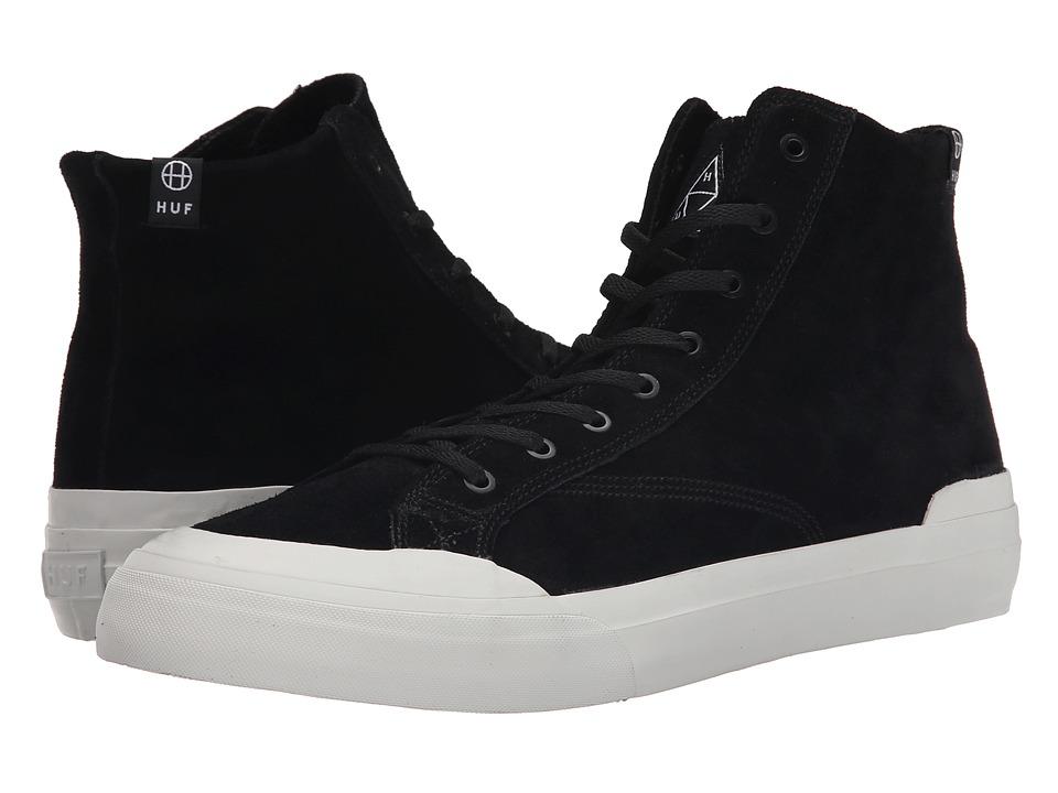 HUF - Classic Hi (Black) Men's Skate Shoes