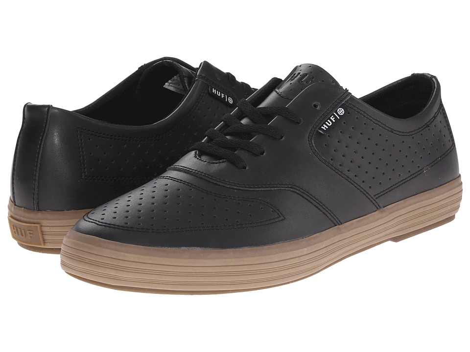 HUF - Liberty (Black Gum) Men's Skate Shoes