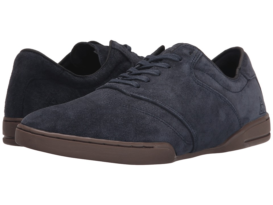 HUF - Dylan (Dark Navy/Dark Gum) Men's Skate Shoes