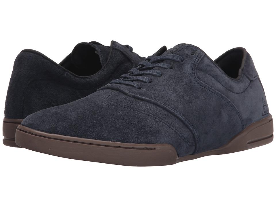 HUF - Dylan (Dark Navy/Dark Gum) Men's Skate Shoes