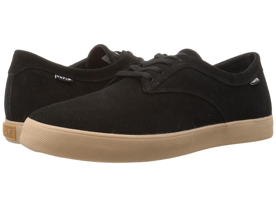 HUF - Sutter (Black Gum) Men's Skate Shoes