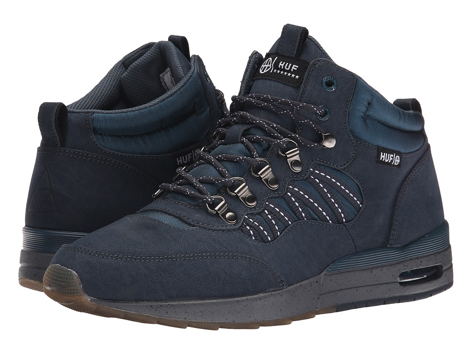 HUF - HR-1 (Dark Navy/Charcoal Grey) Men's Skate Shoes