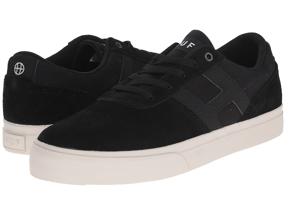 HUF - Choice (Black/Bone White) Men's Skate Shoes