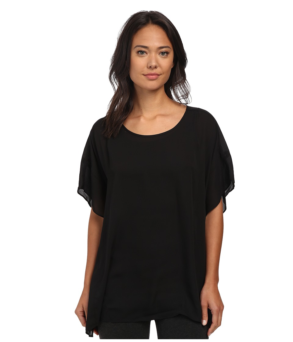 Lysse - Empellon Top (Black) Women's Short Sleeve Pullover