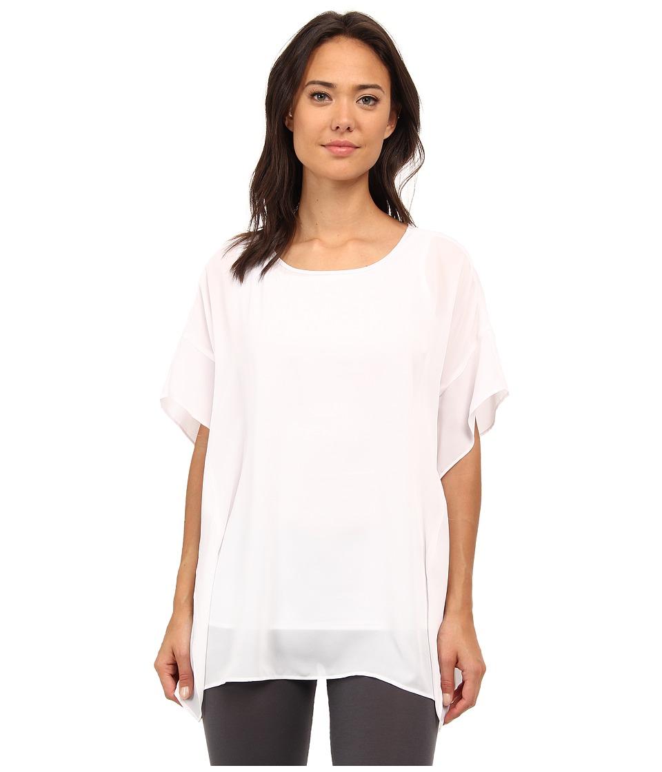 Lysse - Empellon Top (White) Women's Short Sleeve Pullover