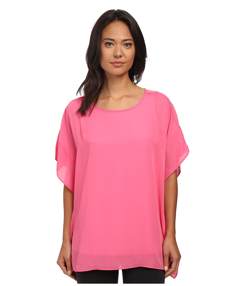 Lysse - Empellon Top (Pink) Women's Short Sleeve Pullover