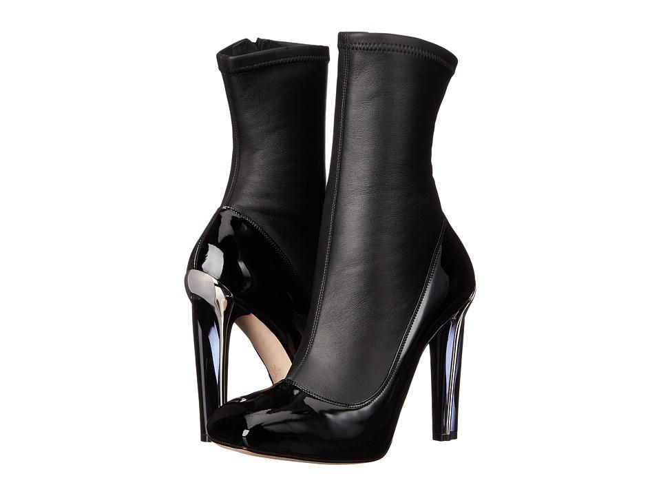 Alexander McQueen Stiv.To Pell S.Cuoio (Black/Black) High Heels