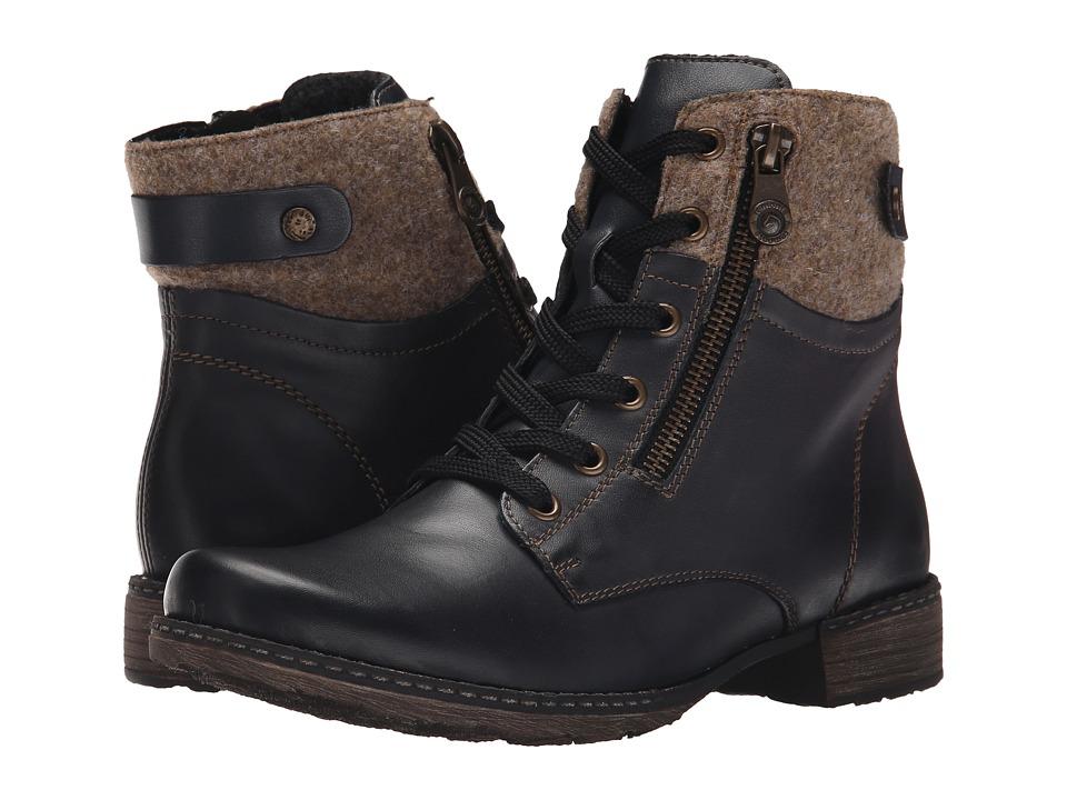 Rieker - D4379 (Lake/Wood/Pazifik) Women's Dress Boots