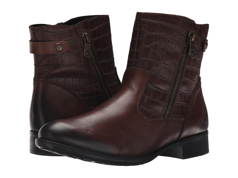Rieker - R6468 Estefania 68 (Teak/Schoko/Teak) Women's Boots