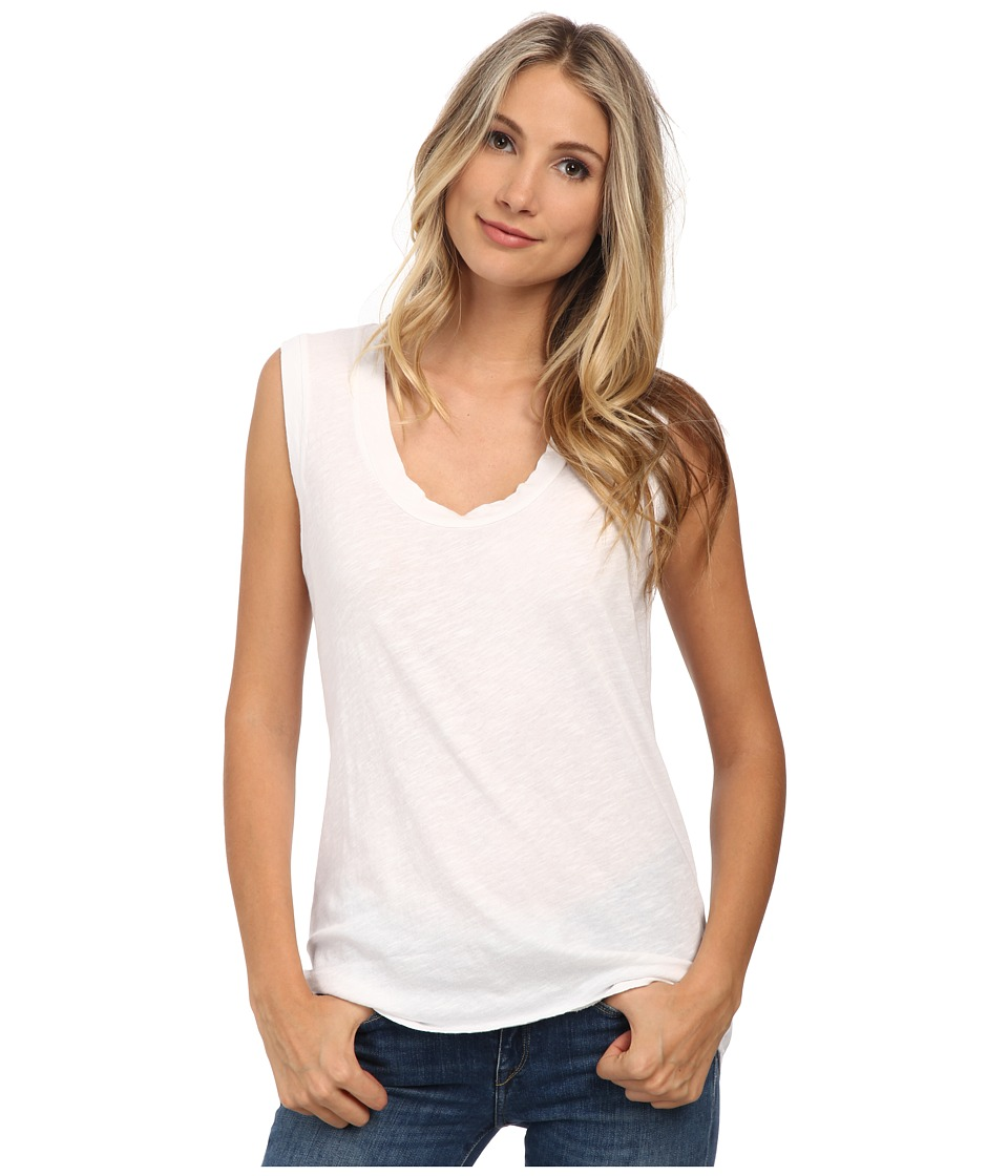 LNA - Esther Tank Top (Solid White) Women