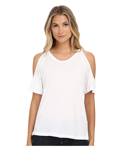 LNA - Ella Tee (Solid White) Women's T Shirt