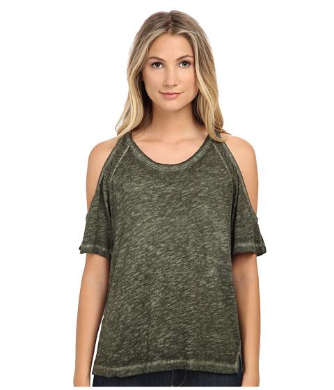 LNA - Ella Tee (Moss Antique Wash) Women's T Shirt