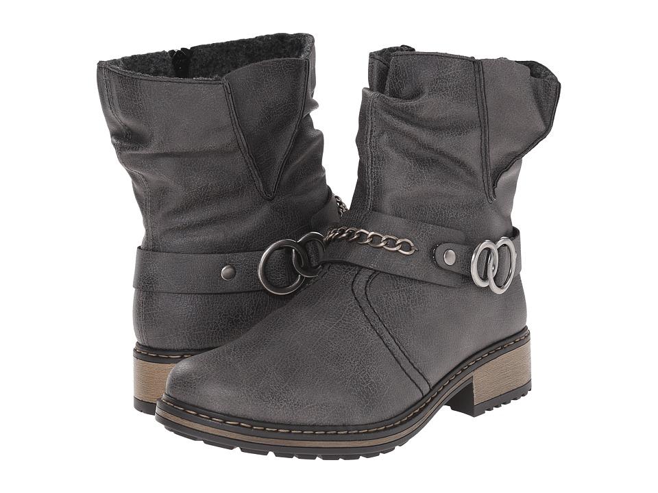 Rieker - Z6868 Philippa 68 (Rauch) Women's Boots